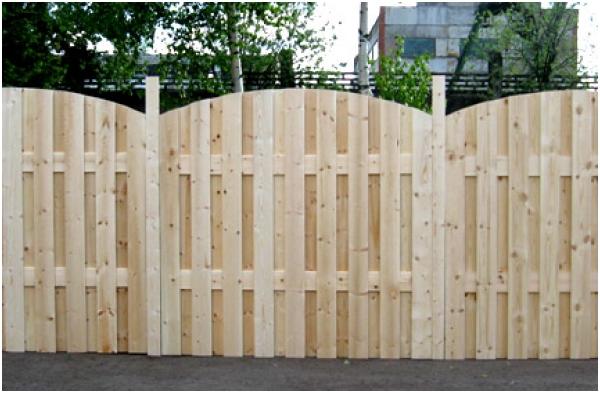 Деревянный забор Воскресенск