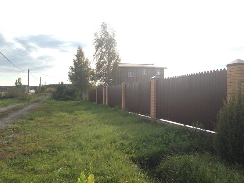 Забор из профнастила Воскресенск