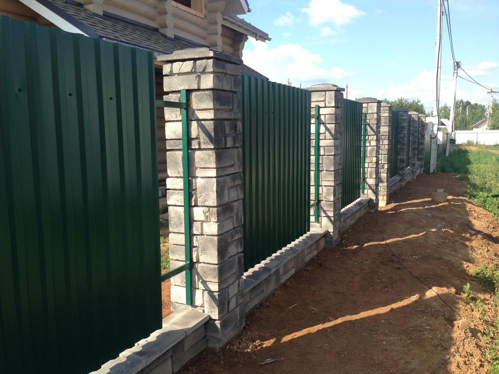 Стеновые заборные блоки Воскресенск
