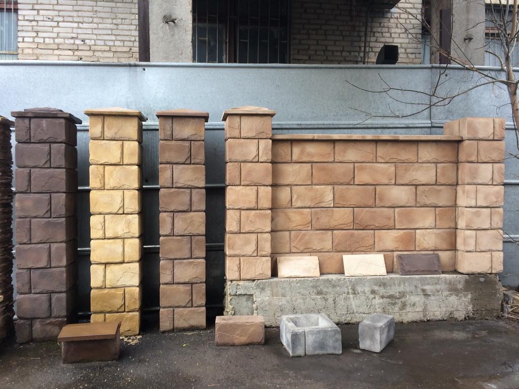 Декоративные блоки для забора воскресенск