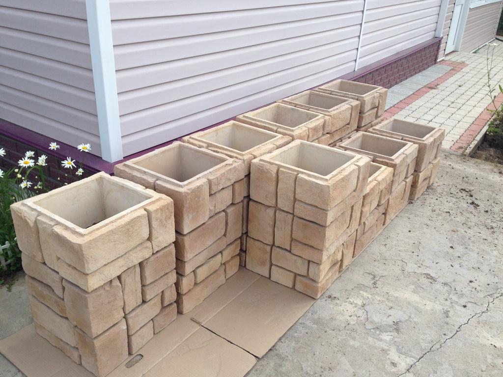 Декоративные блоки для забора