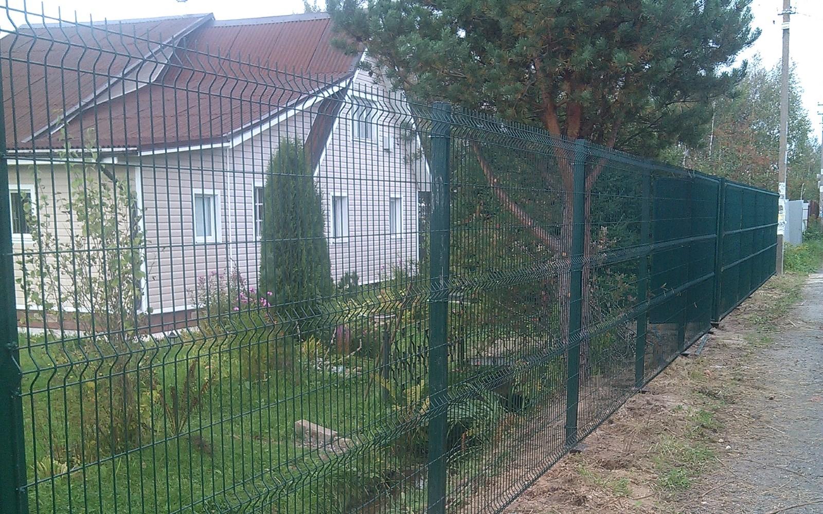 забор из сварной сетки Воскресенск