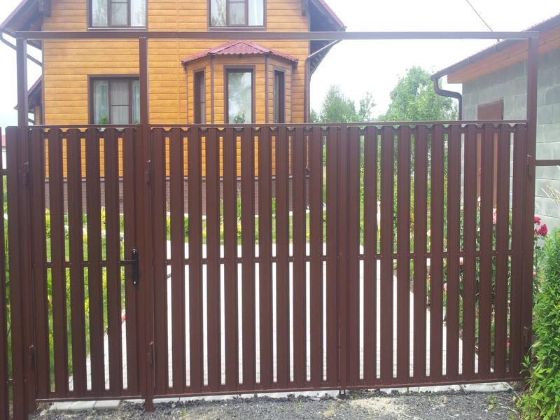 Распашные ворота Воскресенск