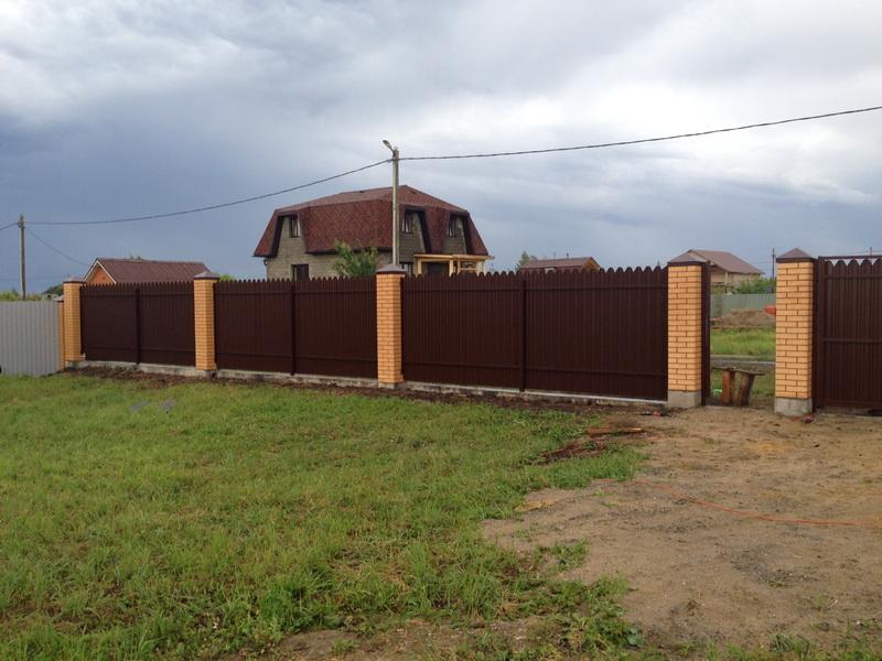 Кирпичные столбы Воскресенск
