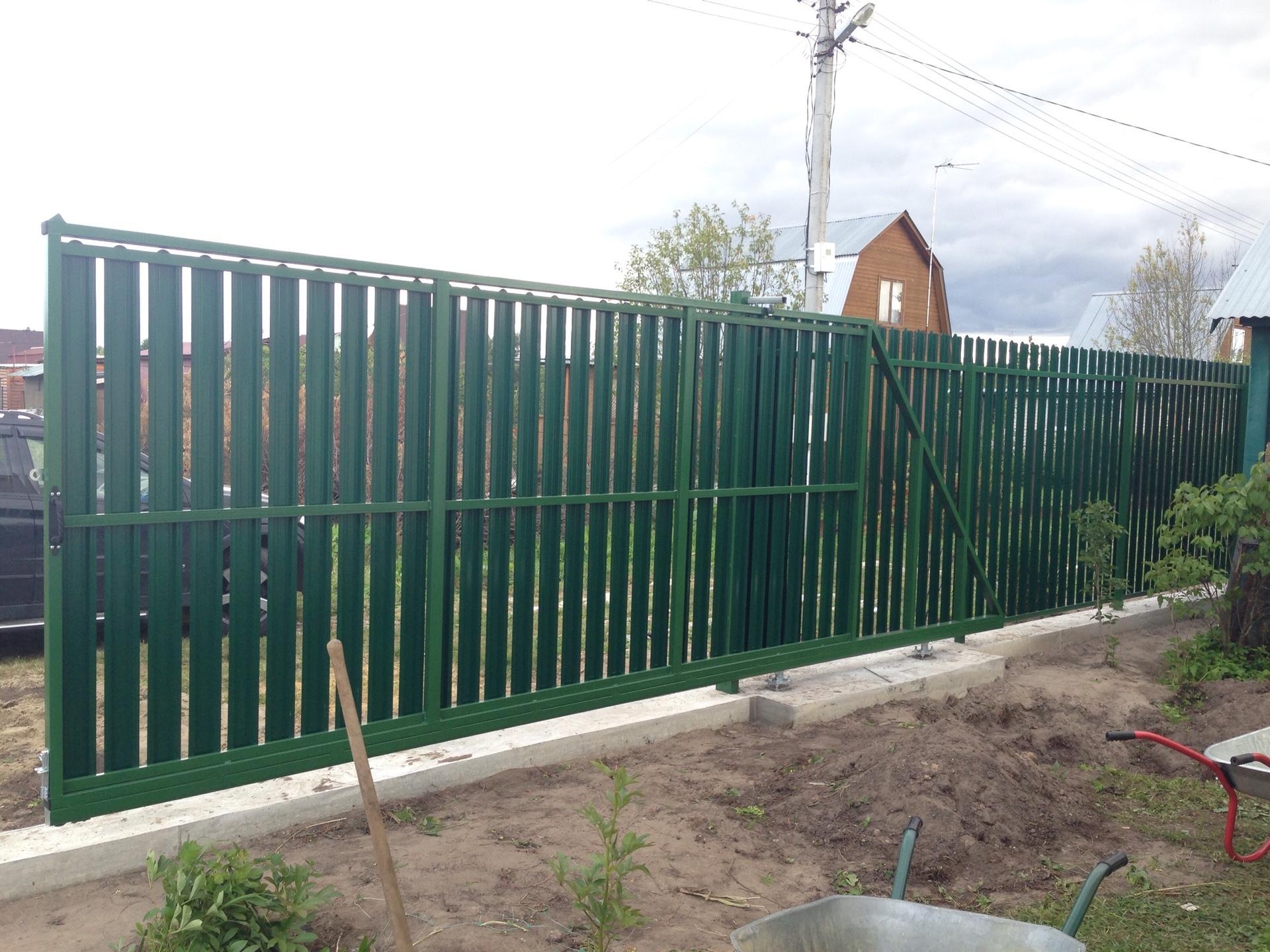 Откатные ворота Воскресенск