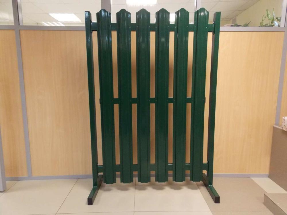 Забор из евро штакетника Воскресенск